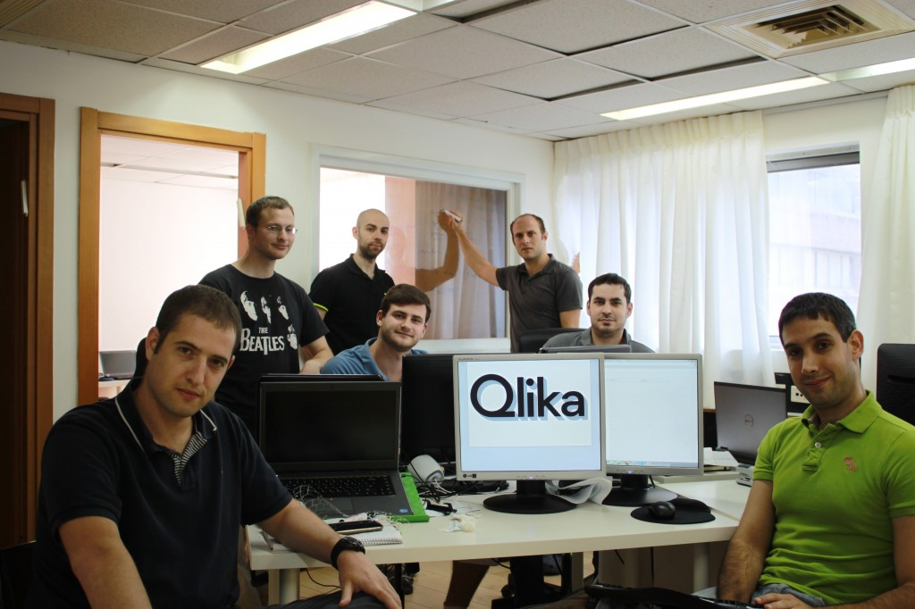 Just another day in the office at Qlika