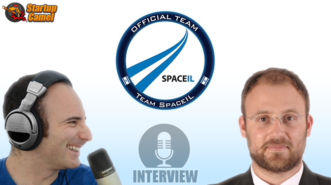 SpaceIL on Startup Camel